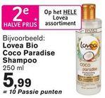lovea bio coco paradise shampoo