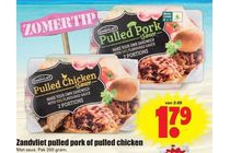 pullen pork of pullen chicken