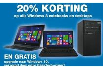 windows 8 notebooks en dekstops