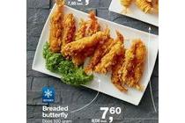 breaded butterfly