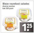 bieze rauwkost salades