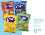 croky crazy ribble chips