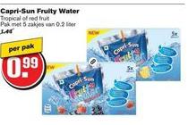 capri sun fruity water