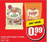 lonka soft nougat of fudge