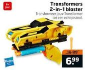 transformers 2 in 1 blaster