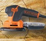 black en decker schuurmachine mouse ka 2000 qs 120w
