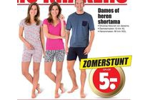 dames of heren shortama
