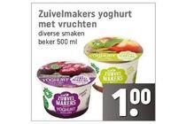 zuivelmakers yoghurt met vruchten