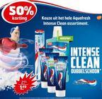het gehele aquafresh intense clean assortiment