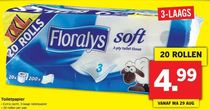 floralys soft toiletpapier xxl
