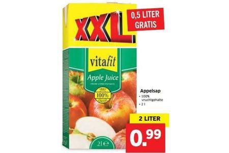 vitafit appelsap xxl