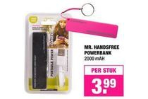 mr handsfree powerbank