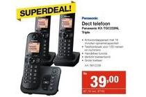 panasonic dect telefoon kx tgc223nl