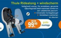 thule ridealong met windscherm