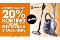 alle electrolux stofzuigers
