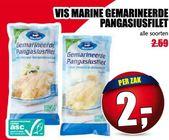 vis marine gemarineerde pangasiusfilet