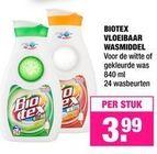 biotex vloeibaar wasmiddel