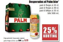 desperados of palm bier