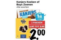 kanjers koeken of buys zoenen