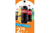 alle coca cola fanta en sprite 1 5 literflessen