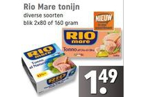 diverse soorten rio mare tonijn