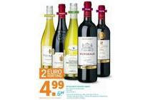 ah excellent selectie wijnen
