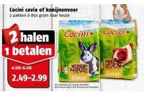 cocini cavia of konijnenvoer