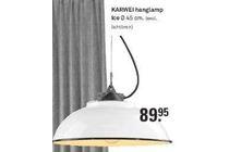 karwei hanglamp ice