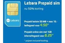 lebara prepaid sim