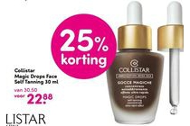 collistar magic drops face self tanning 30 ml