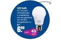 led bulb e27 6 8 watt