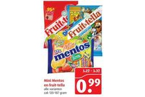 mini mentos en fruit ella