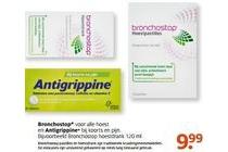 bronchostop en antigrippine
