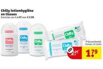 chilly intiemhygiene en tissues