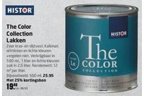 histor the color collection lakken