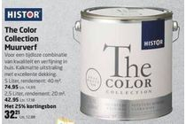 histor the color collection muurverf