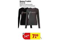 dames t shirt
