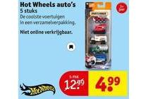 hot wheels auto s 5 pak