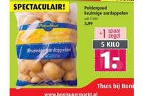 poldergoud kruimige aardappel