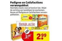 pedigree en catisfactions verwenpakket