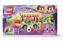 lego friends hotdogwagen 41129