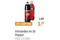 fernandes en dr pepper