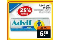 alle advil gel 60 gram nu met 25 procent korting