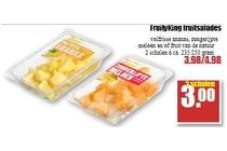 fruity king fruitsalades 2 schalen voor eur3