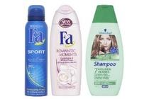 fa deodorant of douche of schwarzkopf shampoo of conditioner
