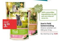 sam s field kattenvoeding
