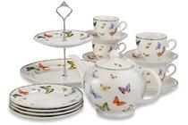 janneke brinkman 10 delig high tea servies vlinder