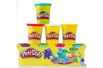 play doh 4 delige set klei