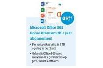 microsoft office 365 home premium nl 1 jaar abbonement