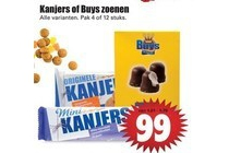 kanjers of buys zoenen